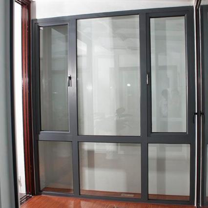 宝山铝合金门窗安装