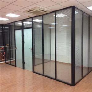 嘉定铝合金玻璃隔断